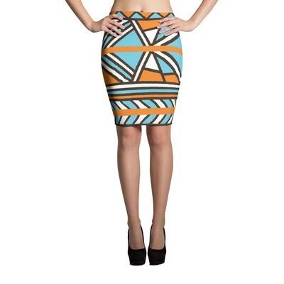 Pencil Skirt Etnic