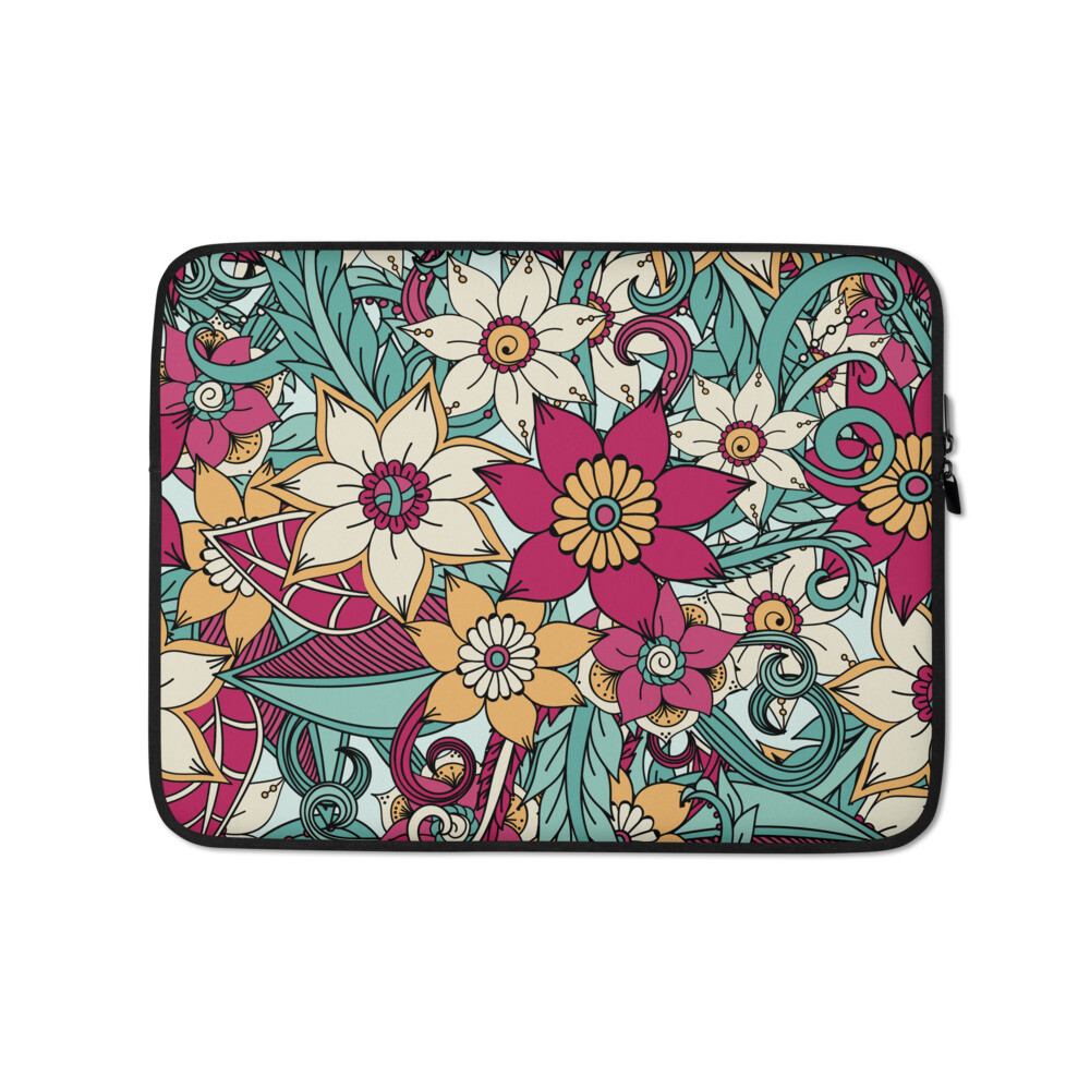 Laptop Sleeve Floral