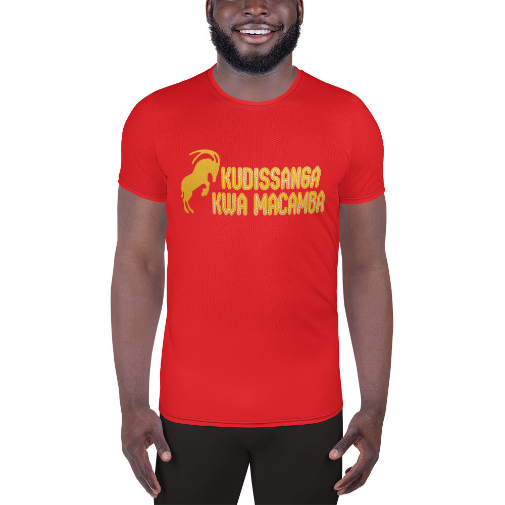 Men's Athletic T-shirt Red Kudissanga