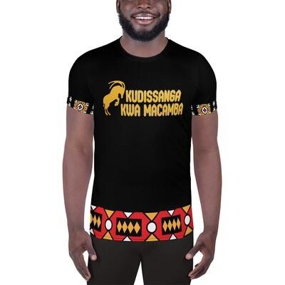 Men's Athletic T-shirt Black CC