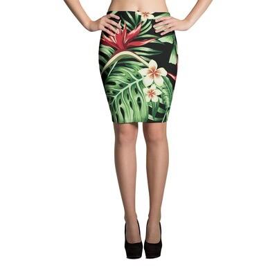 Pencil Skirt Tropical