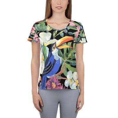 Athletic T-shirt Tropical