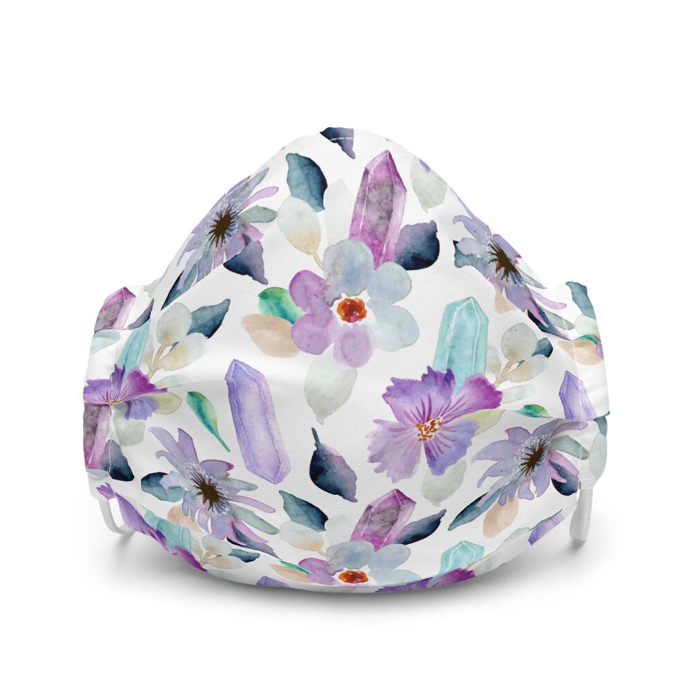 Premium Face Mask - Floral