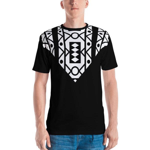Men's T-shirt B/W Samacaca