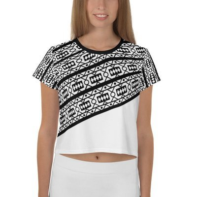 Crop Top B/W Samacaca