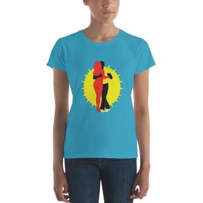 Women's short sleeve t-shirt Azembora