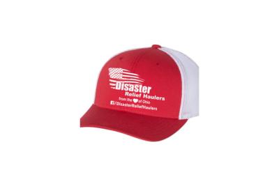 Mesh Flex Fit Hat-White Logo