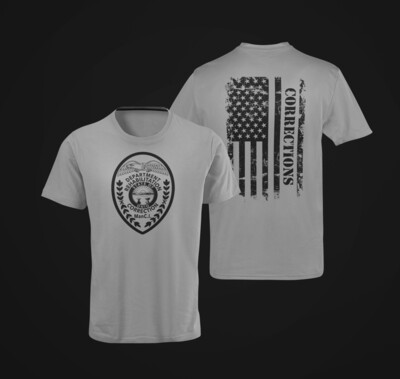 """Corrections Full Front """"Patch"""" Tee"""