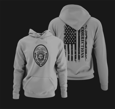 """Corrections Full Front """"Patch"""" Hoodie"""