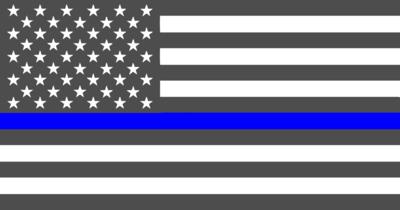 Thin Blue Line Flag Regular