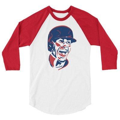 Frankie 3/4 sleeve raglan shirt
