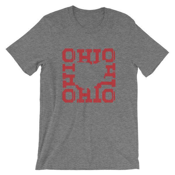 OHIO Square Short-Sleeve Unisex T-Shirt