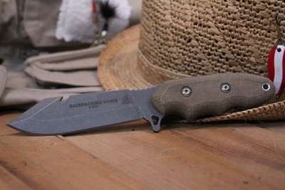 TOPS Knives Backpacker's Bowie 4.5