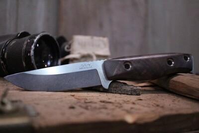 "3DK MAK 4"" Fixed Drop Point, M390 Blade / Walnut Handle"