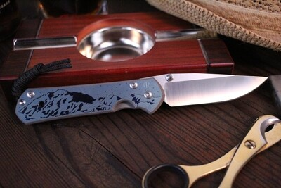 Chris Reeve Custom Left Hand Large Sebenza 21 3.625