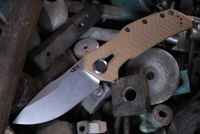 "Zero Tolerance 0308 3.75"" Frame Lock Knife / Coyote G10 / Titanium / 20CV / Stonewash ( Pre Owned )"