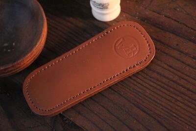 William Henry Studio Replacement Medium Brown Leather Clip Case