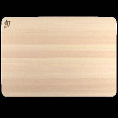 Shun Hinoki Cutting Board - Large W/ Juice Groove