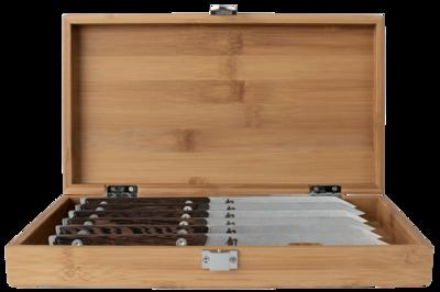 Shun Kanso 6pc Steak Knife Set with Bamboo Box