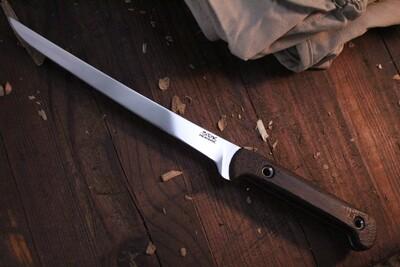 """3DK Fisher 8"""" Fillet Knife,  Wenge"""
