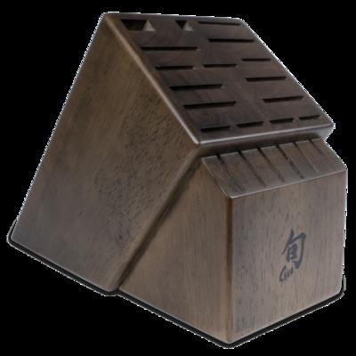 Shun 22 Slot Walnut Block