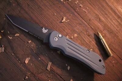 "Benchmade Auto Stryker 3.6"" Automatic Knife / Custom Cerakote (Pre-Owned)"