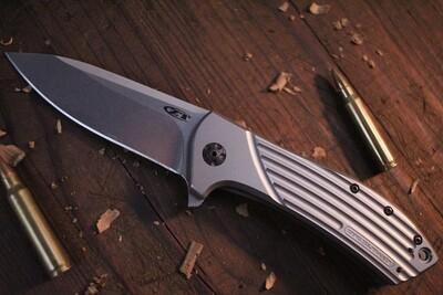 "Zero Tolerance 0801 Rexford 3.5"" Folding Knife / Titanium / Elmax ( Pre Owned )"