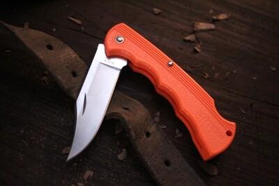 "Buck Discontinued Bucklite 2.75"" Lockback Knife / Orange Blaze / Satin ( Pre Owned )"