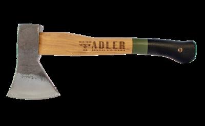 "Adler Axes Rheinland Green Handle Hatchet (1.35 lb Head, 14"" Handle )"
