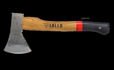 "Adler Axes Rheinland Red Handle Hatchet (1.35 lb Head, 14"" Handle )"