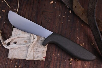 """Gerber Classic Flayer 4.25"""" Fixed Blade Knife / Armorhide / High Speed Stainless ( Pre Owned )"""