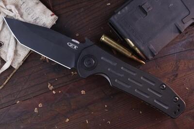 """Zero Tolerance 0620 Emerson 3.6"""" Tanto Emerson Knife / Black G10 ( Pre Owned )"""