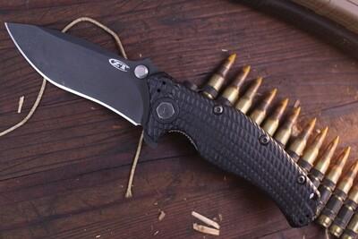 "Zero Tolerance 0200 4"" Liner Lock Knife / Black G10 / Black (Pre-Owned)"