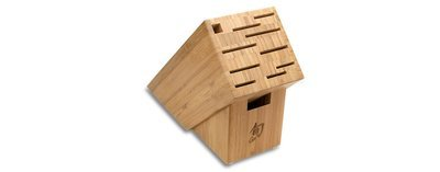 Shun 11 Slot Bamboo Block