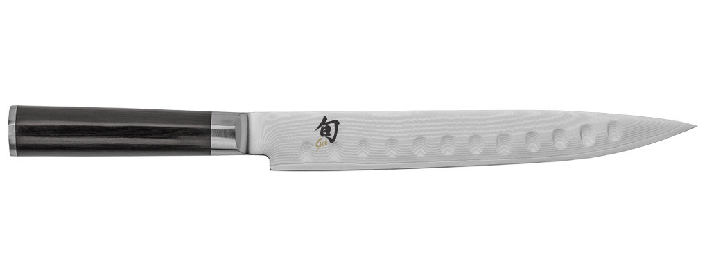 """Shun Classic 9"""" Slicing Knife, Hollow Grind"""