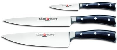 Wüsthof Classic Ikon Three Piece Cook's Set