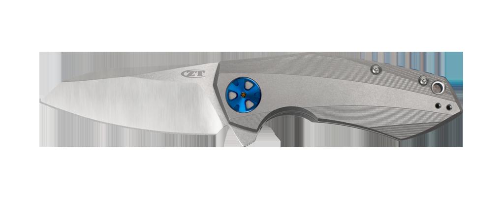 "Zero Tolerance 0456 Sinkevich 3.25"" Flipper Knife Titanium / Satin"