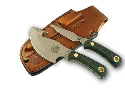Knives of Alaska Light Hunter / Cub Bear Combination Knife Set(D2 / SureGrip™) W/Dual Leather Sheath