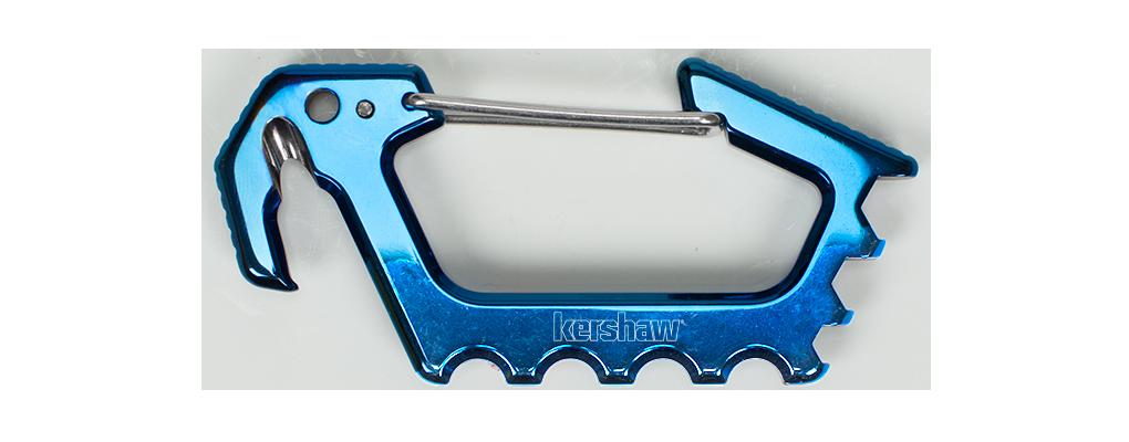 Kershaw Jens Carabiner / Multi Tool, Blue