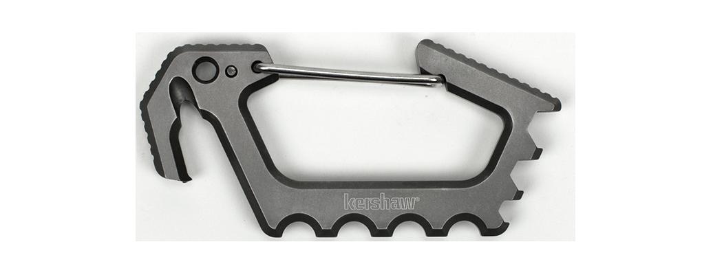 Kershaw Jens Carabiner / Multi Tool, Titanium