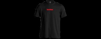 Kershaw T-Shirt Black/Red Medium