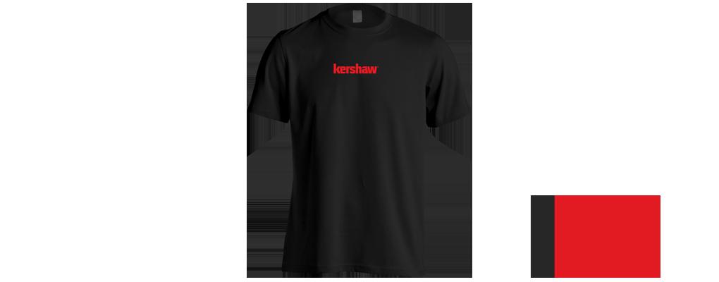 Kershaw T-Shirt Black/Red X-large