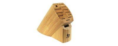 Shun 13 Slot Bamboo Block