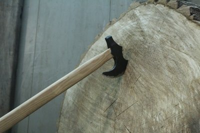 Mark Couch Hand Forged Tomahawk, 16.5