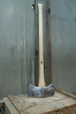 Greyed Bruk Double Bit Axe, 36
