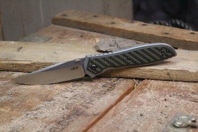 "Zero Tolerance 0640 Emerson 3.75""  Folding Knife Carbon / Fiber / Titanium / Satin"