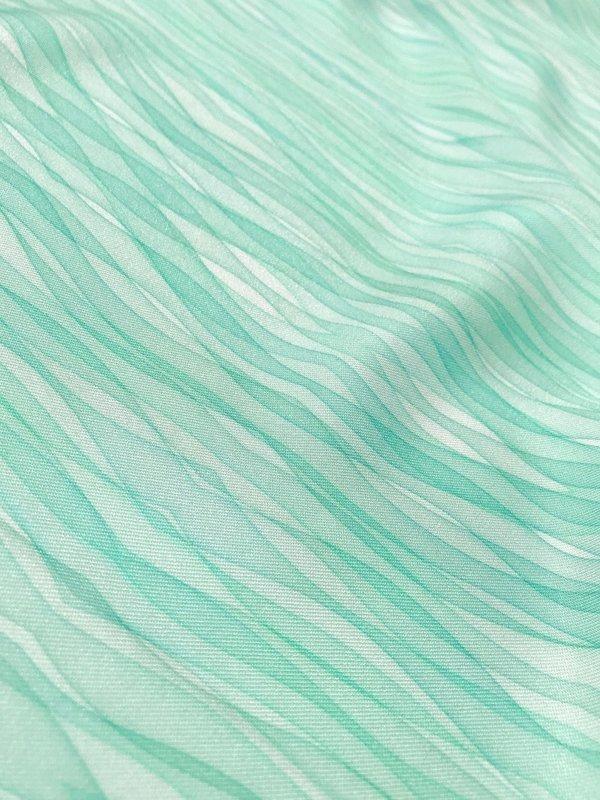 Ocean mint - twill de viscose