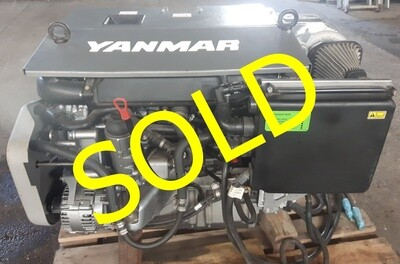 Yanmar 6 BY 3-160 Demo engine, complete engine