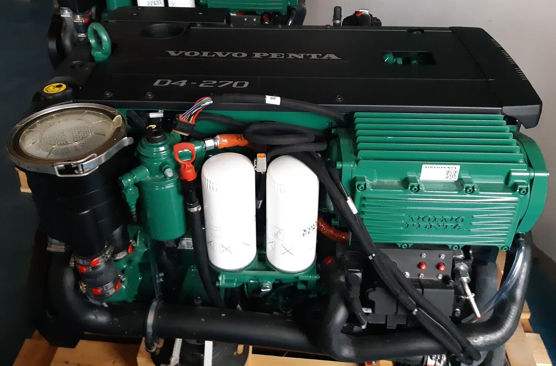 Volvo Penta D4-270 x 2 inboard marine diesel NEW