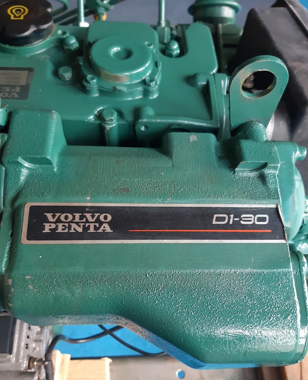 Volvo Penta D1-30 inboard marine diesel engine